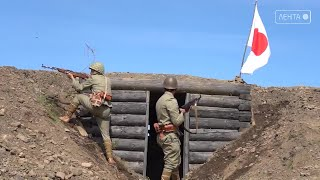 Красноармейцы отбили у японцев полицейский пост Хандаса на Сахалине
