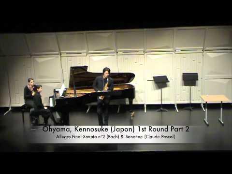 Ohyama, Kennosuke (Japon) 1st Round Part 2.m4v