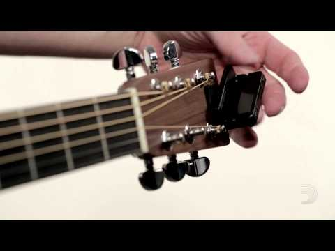 D'Addario Planet Waves Accessories Clip-On Headstock Tuner