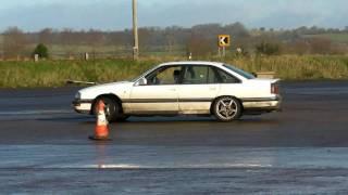 vauxhall senator 3.0 24v drift autotest