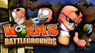 "Worms: Battlegrounds ""TOP NOTCH BANTER!"" (Worms Funny"