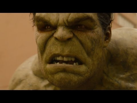 Avengers 2: Age of Ultron | Hulk vs. the Hulkbuster FIRST LOOK clip (2015)