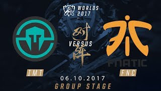 [06.10.2017] IMT vs FNC [Group Stage][CKTG2017][Bảng B]