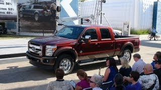 Watch The New 2015 Ford F-250 King Ranch Debut At The