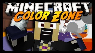 Minecraft: PAINTBALL GRENADES! (Color Zone Mini-Game)