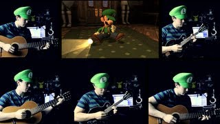Luigi's Mansion Theme Spanish Guitar/Mandolin Cover