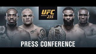 UFC 235: Jones vs Smith Press Conference