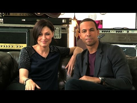 Emma Willis & Marvin Humes introduce the brand new app for The Voice UK 2014 - BBC