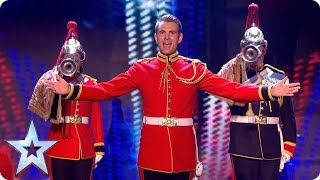 Richard Jones is back on BGT! | Semi-Final 4: Results | Britain's Got Talent 2017