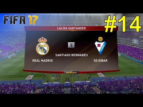 FIFA 17 - Career Mode 'Real Madrid' #14: vs. SD Eibar (LaLiga - Home)