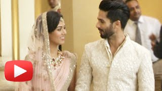 Shahid Kapoor and Mira Rajput Face Media For the First Time After Marriage