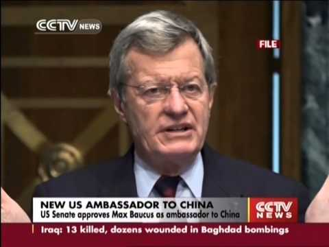 US Senate approves Max Baucus as ambassador to China