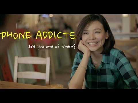 Smartphone Addicts - Are you one of them?