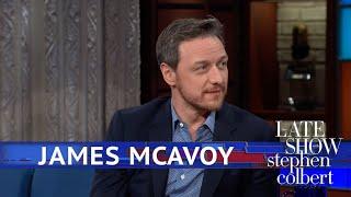 James McAvoy Says Saoirse Ronan Influenced 'Glass'
