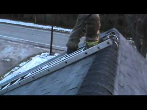 Firefighter invents roof operations safety tool