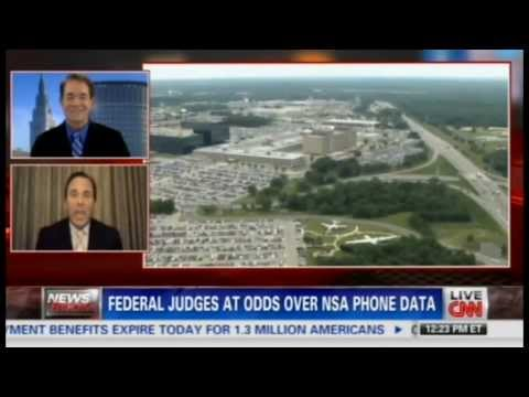 Richard Herman Attorney CNN: Federal Judges at Odds over NSA Phone Data
