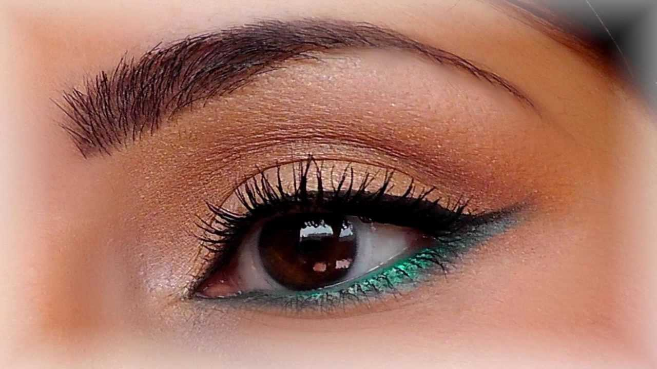 smoky noir yeux marrons