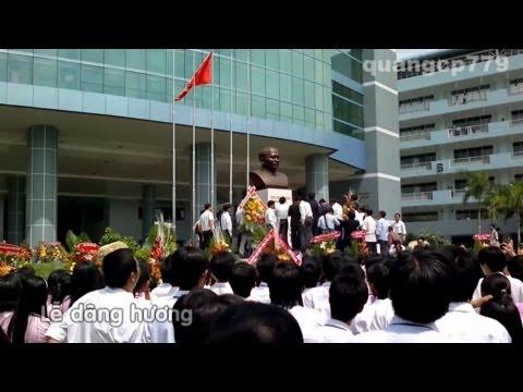 Lễ khánh thành tượng đài Bác Tôn - Đại học Tôn Đức Thắng