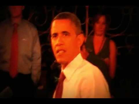 "President Obama Sings ""Happy Birthday"" at Cincinnati Town Hall"