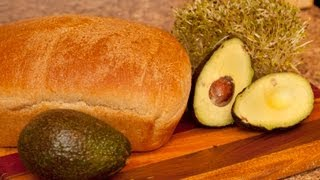 AVOCADO & ALFALFA SPROUT SANDWICH RECIPE