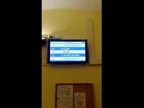 Eliminacode SPS Avanzato 2° visore di sala LCD ASL Genova