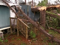 Rescue Workers Help Clean Up After Ga. Tornado