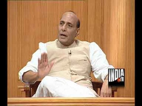 Aap Ki Adalat  Rajnath Singh, Part 1