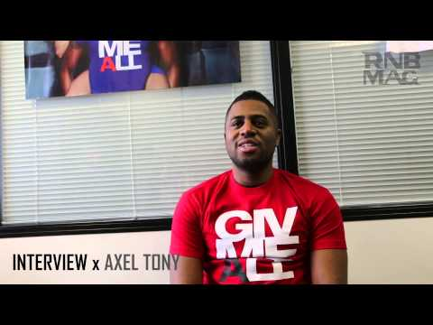 Interview AXEL TONY - RNB-MAG