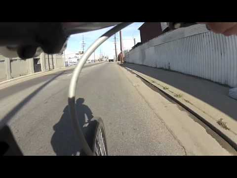 GoPro Hero2 bicycle accident - 2012 Cyclist of the Year Award - Dave Conklin