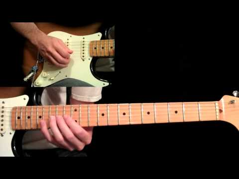 Eric Johnson - Manhattan Guitar Lesson Pt.4 - Main Solo (First Half)