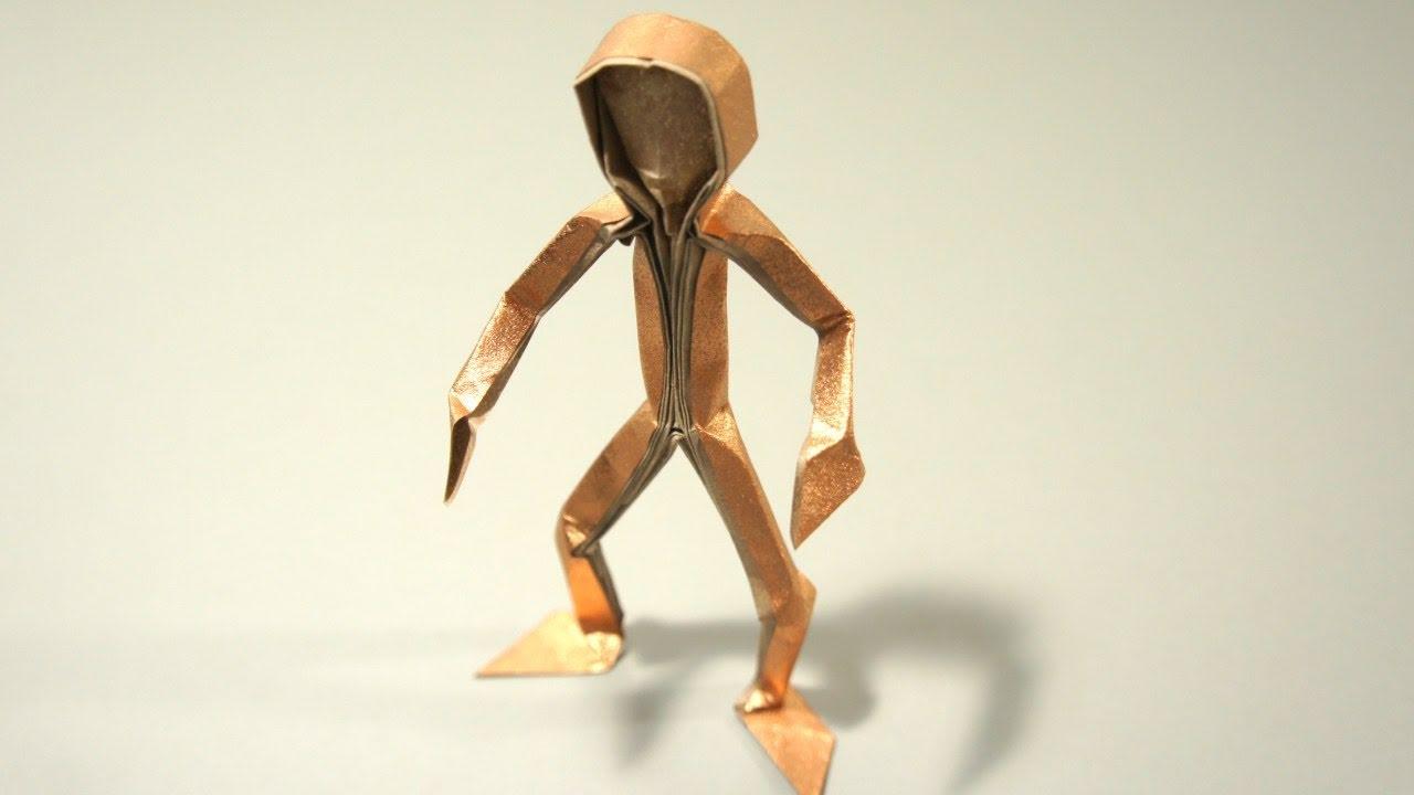 origami figura humana claudio acu241a j youtube