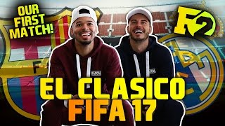 EPIC BILLY VS JEZZA FIFA 17 BATTLE!
