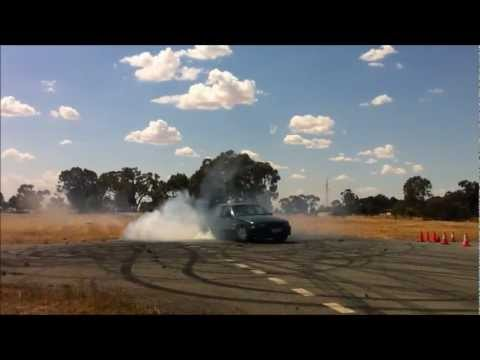 PULN3S vs v6 manual commodore burnout
