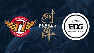 SKT vs. EDG | Group Stage Day 8 | 2017 World Championship | SK telecom T1 vs Edward Gaming