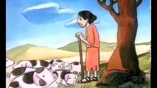 Las parabolas de Jesus en dibujos animados