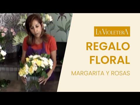 Como hacer un arreglo floral para obsequiar LA VIOLETERA