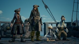 KINGDOM HEARTS III – E3 2018 Pirates of the Caribbean Trailer