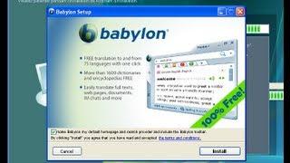 Desistalando O Babylon Search