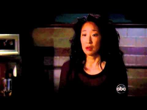 Grey's Anatomy 8x03 Cristina & Owen Bathroom Scene
