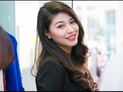 Bí mật cơ thể Ngọc Trinh VTV   canhoangiastar.com