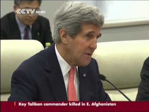 Kerry visits China: China an US to enhance new relationship