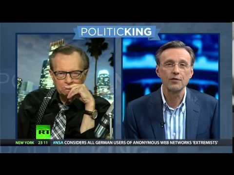 Politicking: RT's Thom Hartmann, Abby Martin and Erin Ade Face Off with Larry King