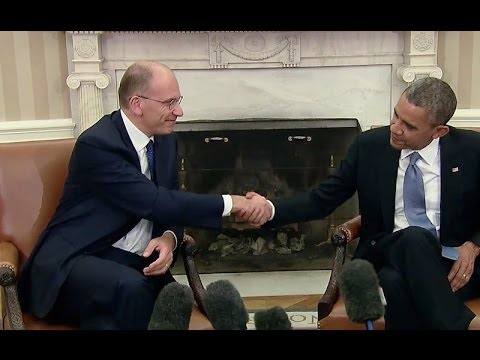 President Obama's Bilateral Meeting with Prime Minister Letta of Italy