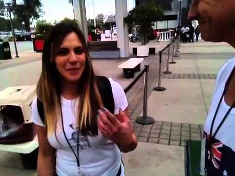 Laura at Clicker Expo 2014