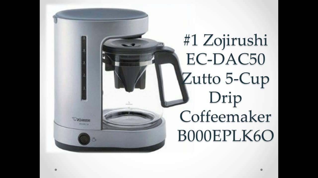 Drip Coffeemaker for Home 2014 Best Coffee Maker - YouTube