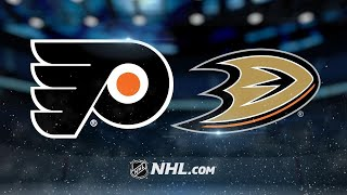Simmonds nets OT winner to push Flyers past Ducks