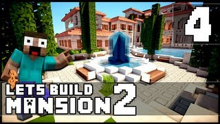 Minecraft: How To Make a Mansion - Part 4