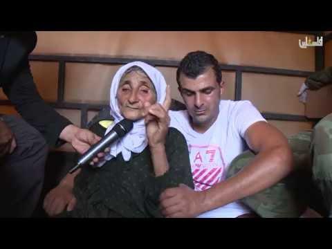 عمالقة الصبر جنازة الاسير الشهيد ياسر الحمدوني وزيارة مالك القاضي