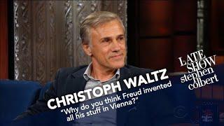 Christoph Waltz And Stephen Were Both Altar Boys