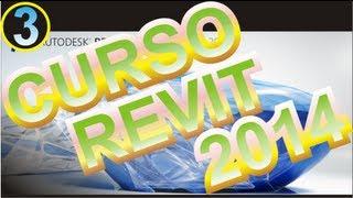 CURSO REVIT 2014 ESPAÑOL :VIDEO 03 Cómo Trabajar Con Las
